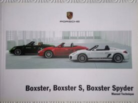 Notice Boxster / spider 987 phase 2