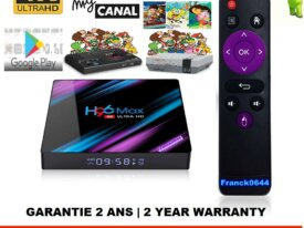 H96 MAX Android 9.0 TV Box 64bit 3G/64G 4K UHD IPT