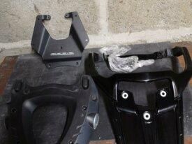 Porte bagage FJR,platine Givi E228 et M5