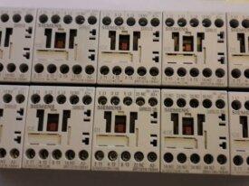 Vends lot 10 contacteurs Siemens 24v