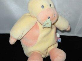 hippopotame doudou de compagnie