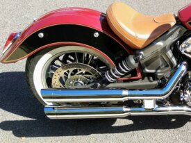 Echappements Bassani Slash Cut Indian Scout