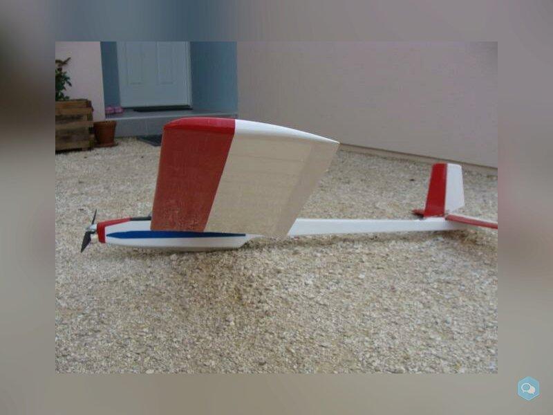 Planeur Graupner AMIGO II modifié 3