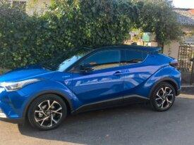 A vendre Toyota  CHR hybride graphic  bleu nébula