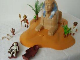 Playmobils - Sphinx avec momie - 4242