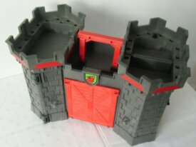 Playmobils-Chevaliers-Château fort transportable