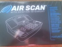 RÉCEPTEUR AM-FM/AVIATION / AIR SCANNER 1