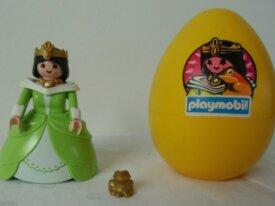Playmobils - Princesse - Oeuf jaune princesse