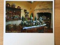 """Carte personnalisée """"Noël au Château de Villa 1"""
