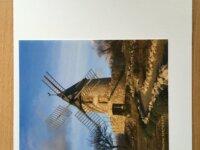 """Lot de 05 Cartes personnalisées """"Les moulins& 1"""