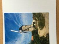 """Lot de 05 Cartes personnalisées """"Les moulins& 2"""