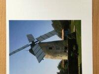 """Lot de 05 Cartes personnalisées """"Les moulins& 3"""
