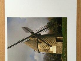"""Carte personnalisée """"Moulin du Mont des Aloue"""