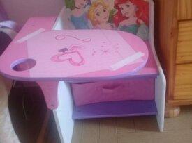 petit bureau princesse