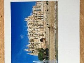 """Carte personnalisée """"Cathédrale de Palma de M"""