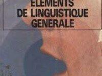 Eléments de linguistique générale 1