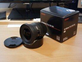 Objectif Sigma 10-20mm f/3.5 EX DC monture Nikon