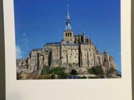 """Carte personnalisée """"Le Mont-Saint-Michel&quo"""