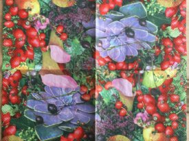 "Serviette en papier ""Fruits et baies sauvages"