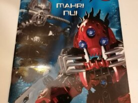 Cahier ludique BIONICLE Mahri Nui neuf