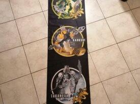 Bannière Bionicle Stars - Gresh Rahkshi Takanuva