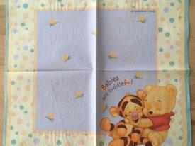 Serviette en papier «Winnie l'ourson et Tigrou fon