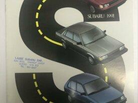 Brochures automobiles SUBARU