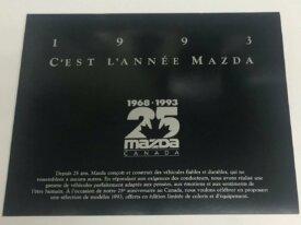 Brochures automobile MAZDA