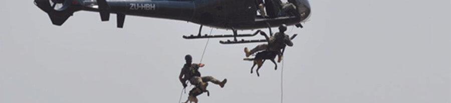 Vidéo : Ce chien saute en parachute pour chasser les braconniers
