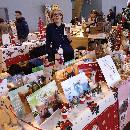 Le coeur des bénévoles au marché de Noël