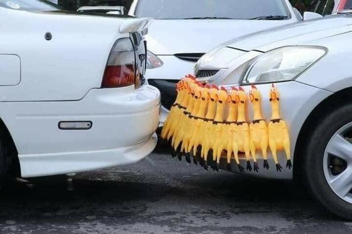 Une solution pour ne plus se faire abîmer son pare-choc de voiture.