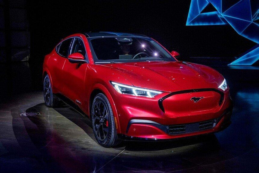 Mach-E, nouvelle Ford Mustang 100% électrique