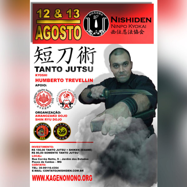 Tantō-jutsu (短刀術) Facas Japonesas e Shiken