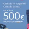 WIDIBA regala BUONO AMAZON € 100 o € 300 o € 500