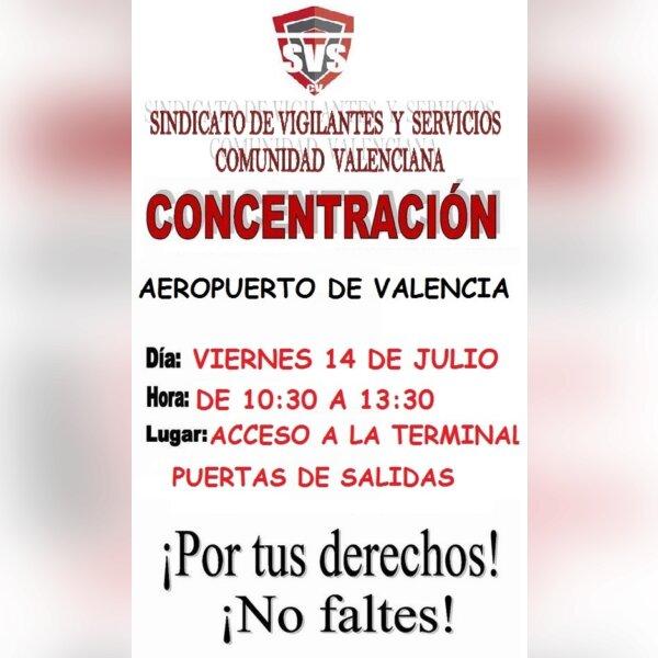 Concentración aeropuerto de Valencia 1.jpg