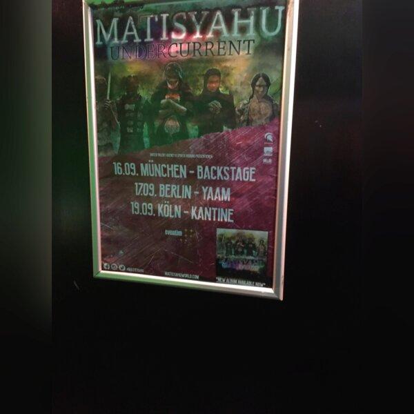 Matisyahu: Undercurrent Tour 16.9. München Ba 1.jpg