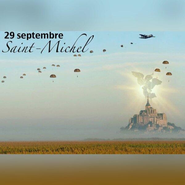 Saint Michel , Patron des Parachutistes
