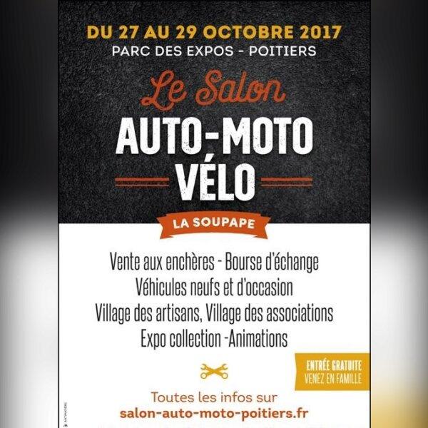 SALON AUTO-MOTO-VÉLO – POITIERS (86)