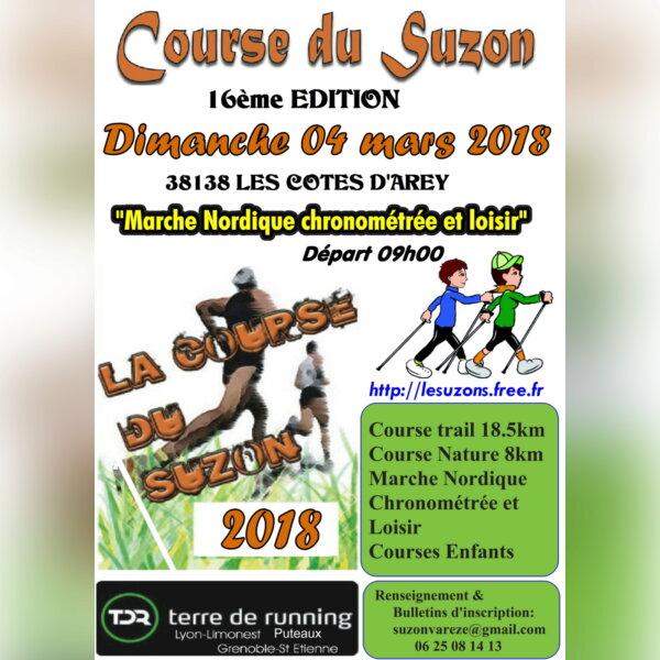 Course du Suzon (38138 Les Cotes d'Arey)