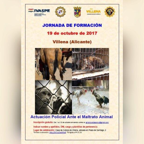 (#Evento) Jornadas sobre maltrato de animales  1.jpg