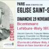 Concert d'orgue Lefébure-Wely