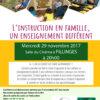 Conférence : l'instruction en famille - un enseign