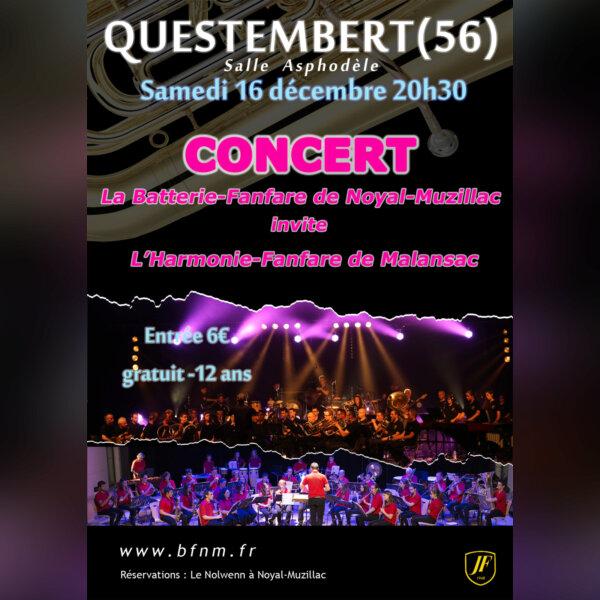 Concert BF de Noyal-Muzillac et Harmonie-Fanfare d - img