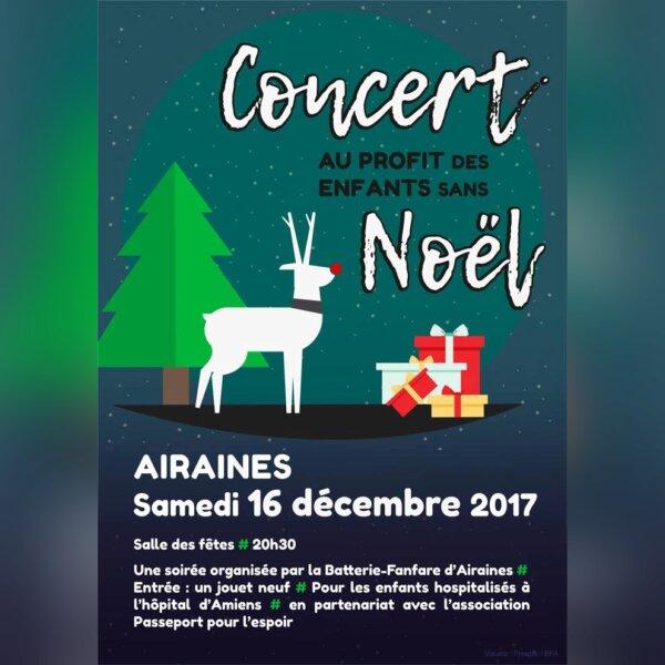 AIRAINES : Concert au profit des enfants sans Noël - img