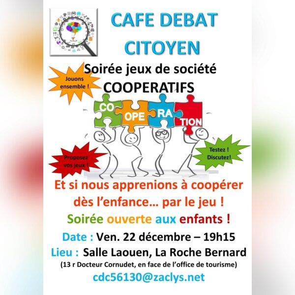 Jeux de société coopératifs - La Roche-Bernard