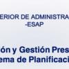 Foro Planificación y Gestión Presupuestal Sistema