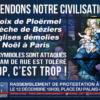 Défendons notre Civilisation. Rassemblement Paris