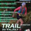 Trail du VALJOLY