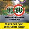 Manif Nationale FFMC contre les 80 km/h