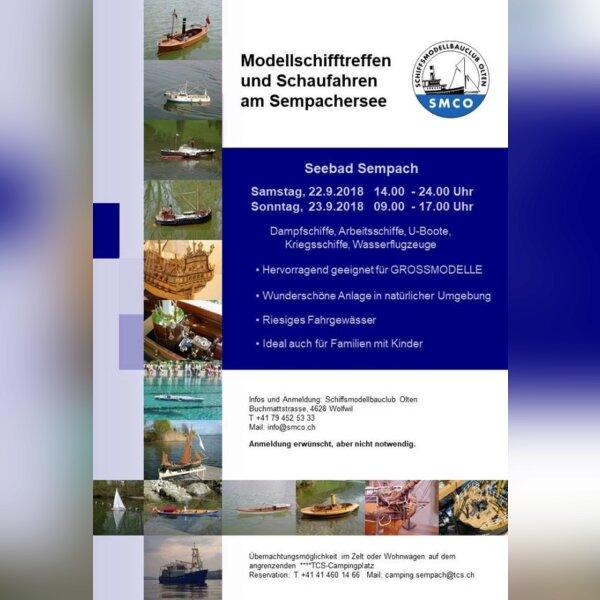 Expo Modélisme à Sempach (Suisse)